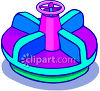 Playground Merry-Go-Round clipart
