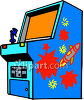 Old Fashioned Arcade Video Game clipart
