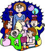 Kids Birthday Party Clip Art clipart