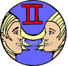 Gemini The Twins Clip Art clipart