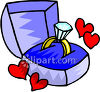 A Diamond Engagement Ring clipart