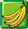 Bunch Of Ripe Bananas clipart