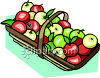 Basket Full Of Apples clipart