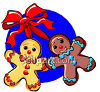 Gingerbread People Cookies clipart