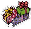 Bunch Of Christmas Presents clipart