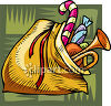 Sack Full Of Toys clipart