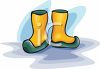 Galoshes clipart