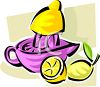 Juicing Lemons clipart