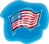 United States Flag clipart