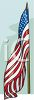 Flag on a Flag Pole clipart