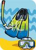 Diving Gear clipart