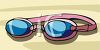 Swimming Goggles clipart