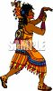 Ceremonial Dancer clipart