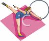 Hoop Dancer clipart