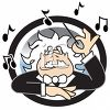 Classical Music Conductor clipart