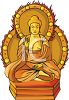 Exotic Buddha Statue clipart