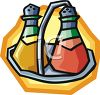 Vinegar and Oil clipart