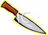 Butcher Knife clipart