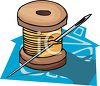 Thread clipart