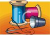 Sewing Items clipart