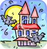 Haunted House Clip Art clipart