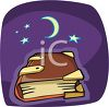Witch's Book of Magic Spells clipart