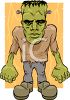 Cartoon Frankenstein Monster clipart