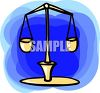 Zodiac Symbol for Libra clipart