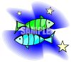 Pisces Zodiac Sign clipart