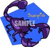 Scorpio Astrology Symbol clipart