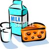 Clip Art of Dairy Products clipart