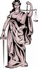 Justice is Blind Clip Art clipart