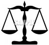 Scales of Justice Clip Art clipart