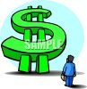Giant Dollar Sign Clip Art clipart