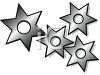 Japanese Throwing Stars Clipart clipart