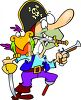 Pirate Cartoon Clip Art clipart