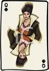 Queen of Spades Playing Card clipart