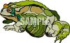 Warty Toad clipart
