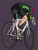 Bicycle Racer clipart