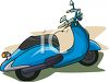 Scooter Clipart clipart