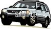 Compact Sport Utility Vehicle clipart