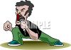Alternative Punk Singer Clip Art clipart