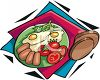 Eggs and Spam clipart