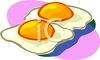 Fried Eggs-Sunny Side Up clipart