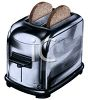 Realistic, Stainless Toaster Clip Art clipart