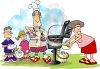 Family Barbecue clipart