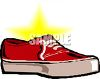 Canvas Boat Shoes clipart