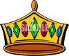 Jeweled Crown clipart