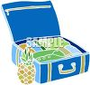 Packed Suitcase clipart