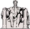 Lincoln Memorial clipart